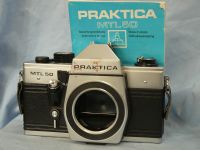 ' 42MM ' Praktica MTL50 M42 SLR Camera + Inst £5.99